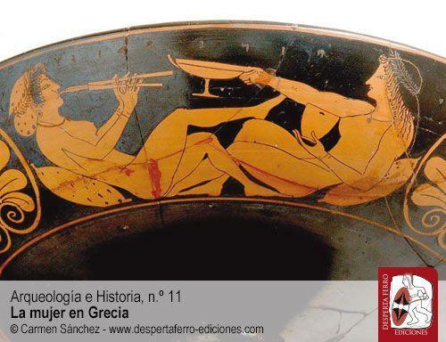 imagen de la mujer Grecia Antigua