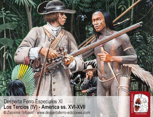 milicias indígenas americanas