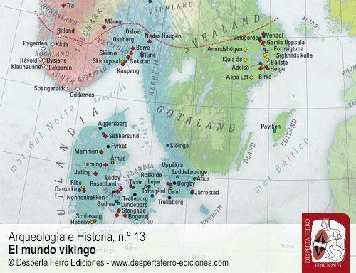 escandinavia vikingos