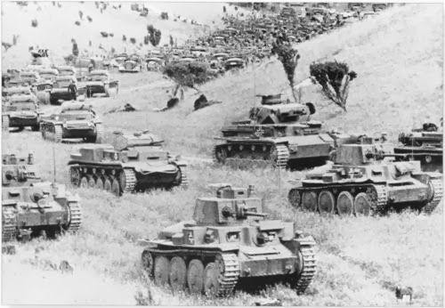 invasión de Francia División Panzer Rommel
