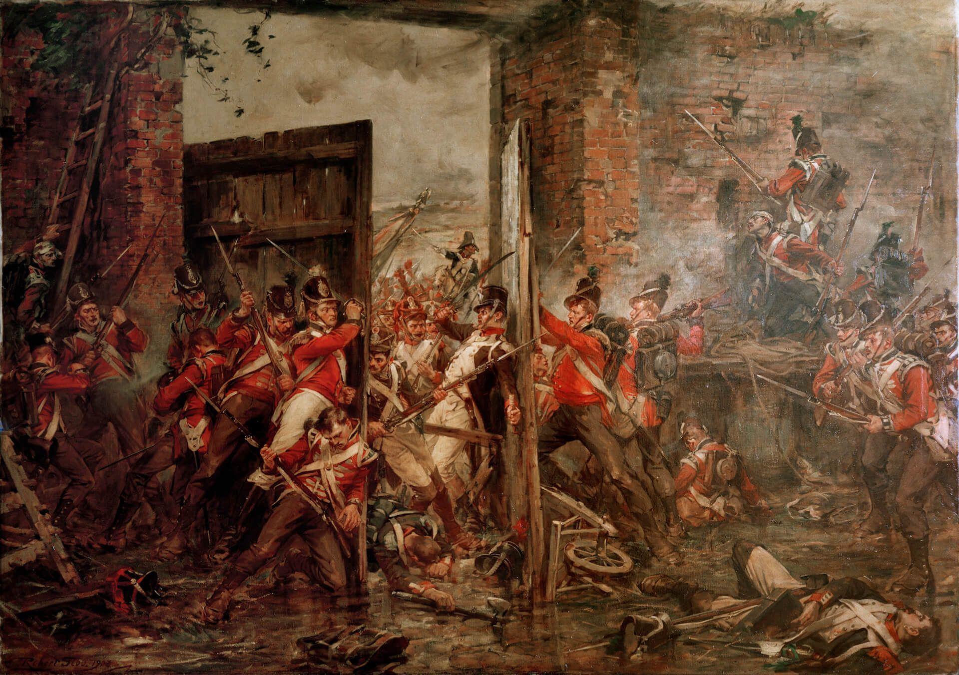 Hougoumont Waterloo
