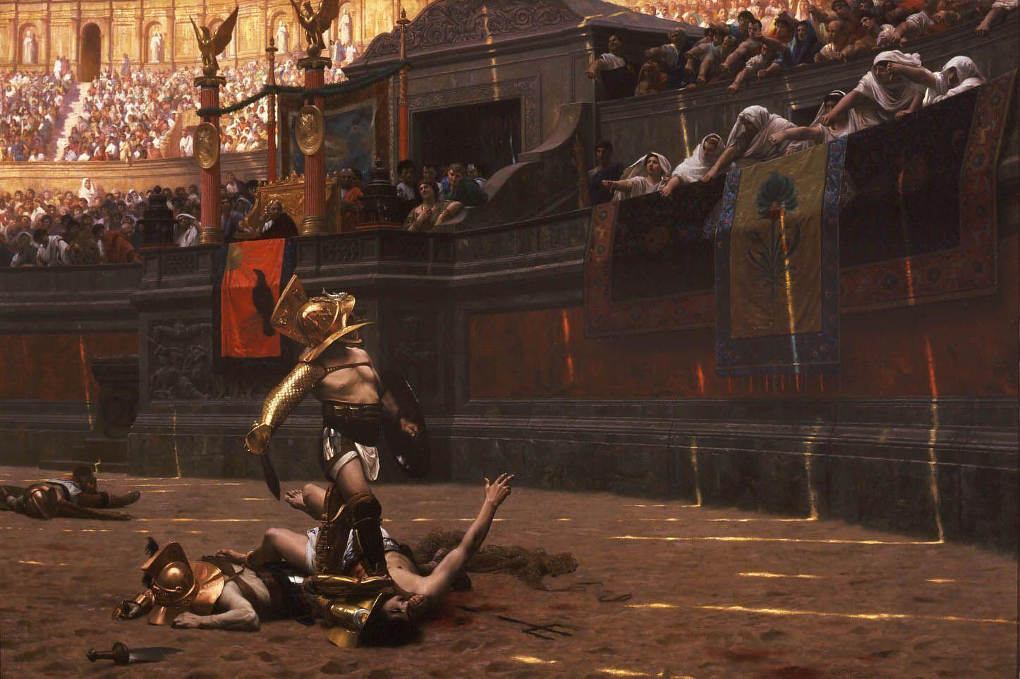 Pollice verso gladiadores