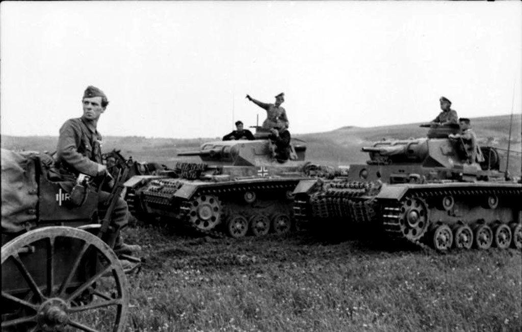 Panzer III Barbarroja