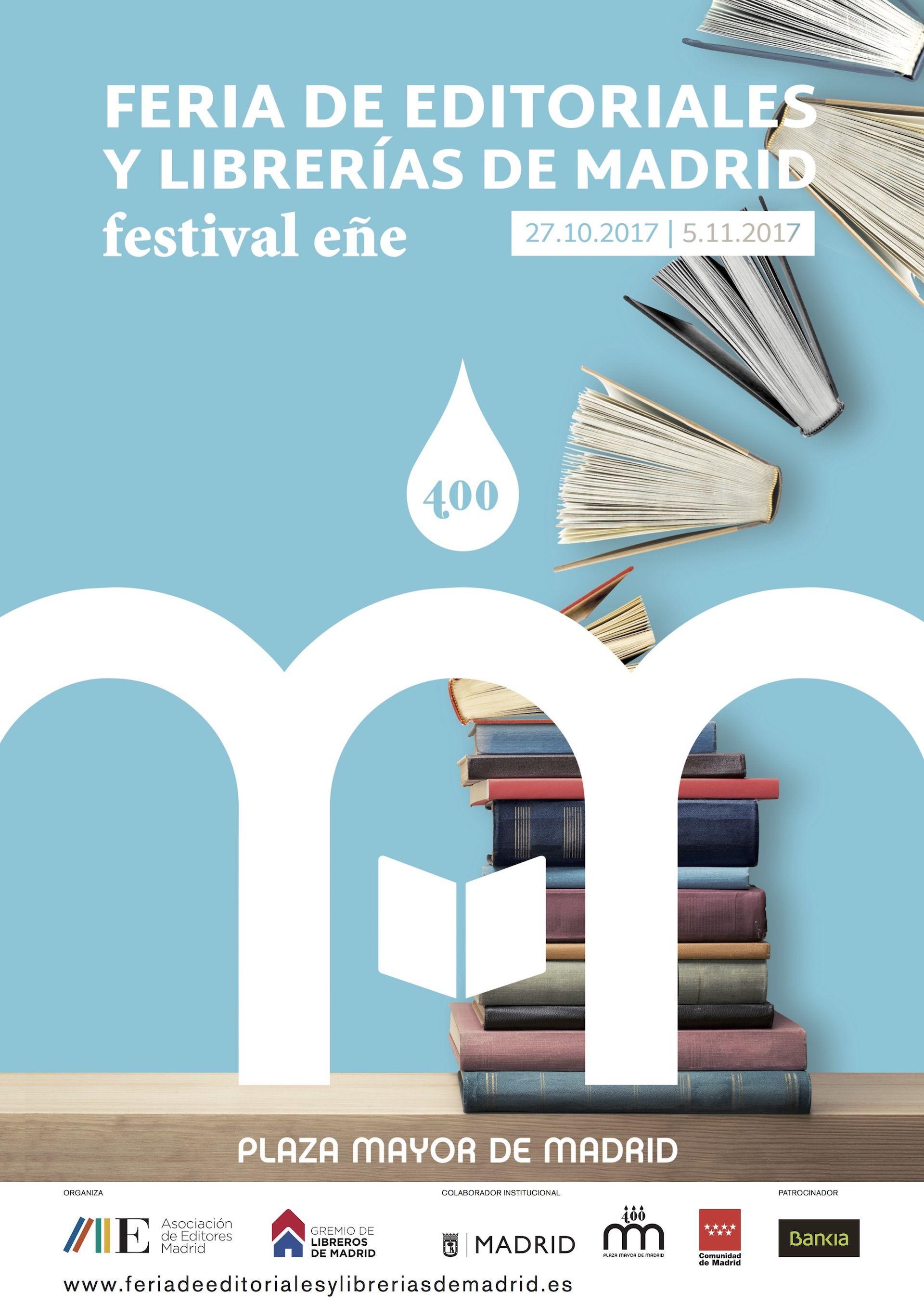 Feria del Libro de Editoriales y Librerías de Madrid Plaza Mayor
