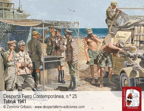 La ofensiva de Rommel hasta Tobruk por Julian Shales