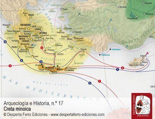 La talasocracia de Minos por Joaquín Ruiz de Arbulo