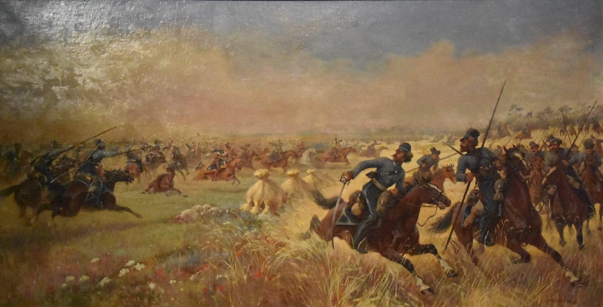 batalla de Mir cosacos