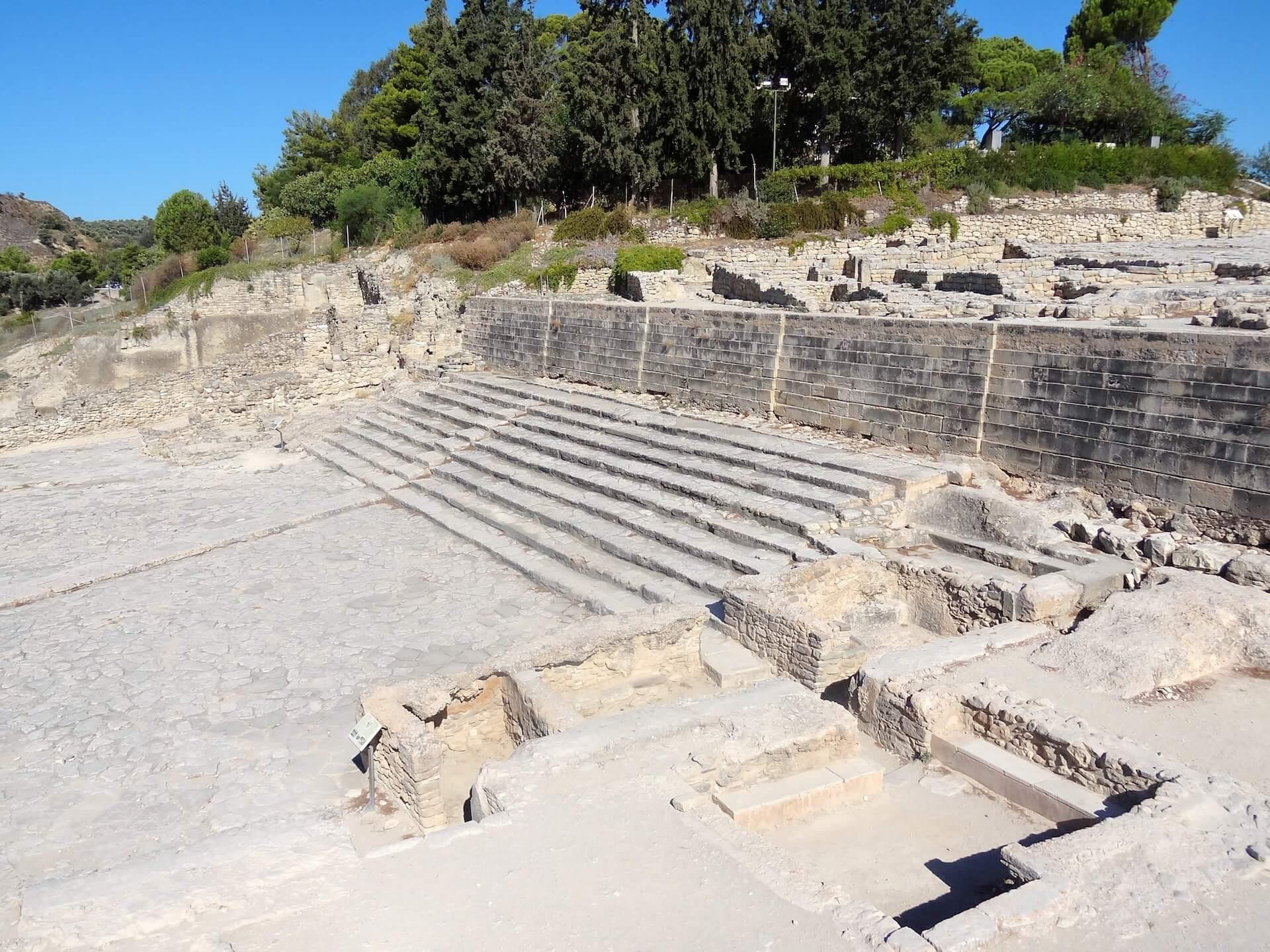 Palacio de Festos Creta minoica