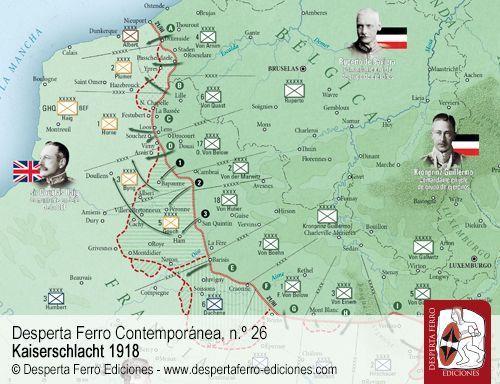 Frente del Oeste en 1918 por Matthias Strohn