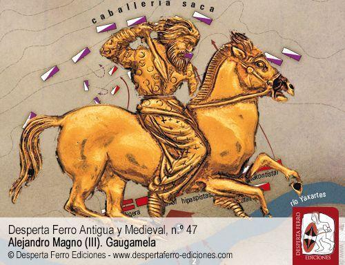 Alejandro contra los centauros. La batalla del Yaxartes por Borja Pelegero Alcaide.