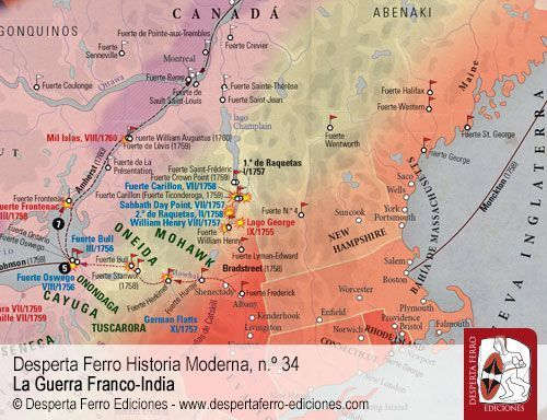 Norteamérica y la Guerra de los Siete Años por Richard Hall – Swansea University