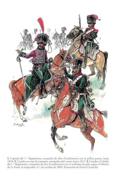 El Ejército español de José Napoleón, Patrice Courcelle
