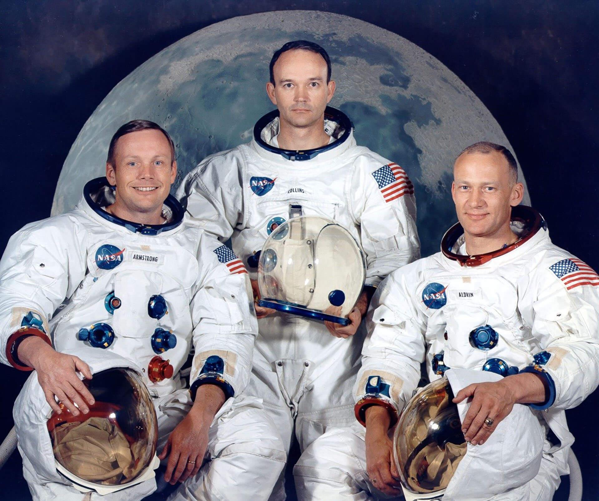 Apollo 11 Neil Armstrong Collins Buzz Aldrin