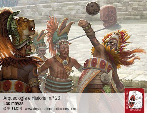 Palacios, gobernantes y cortesanos mayas durante el período clásico por Rocío García Valgañón