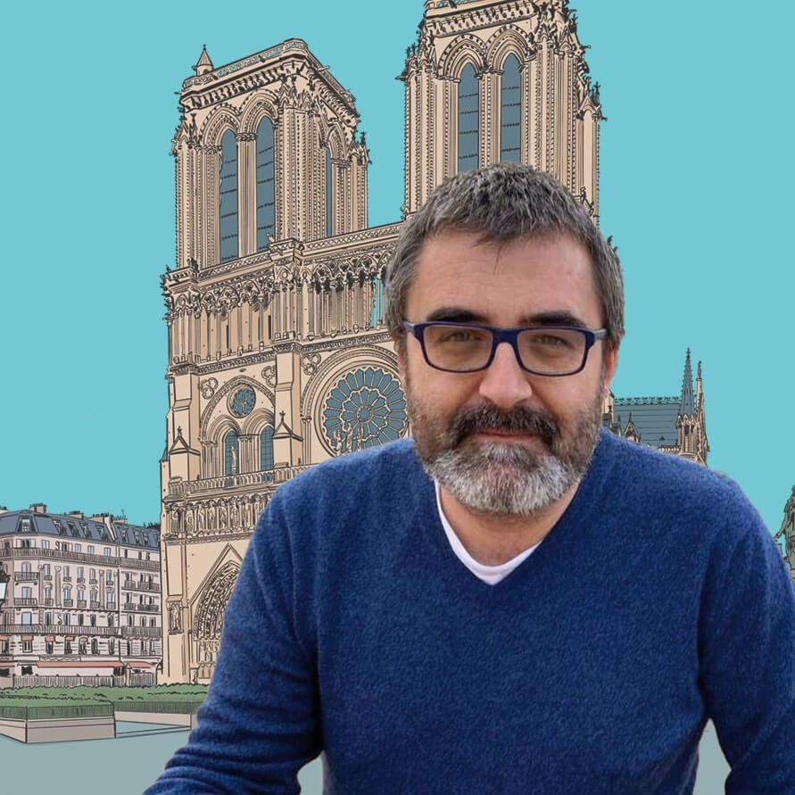 Pedro Cifuentes Historia del arte en cómic