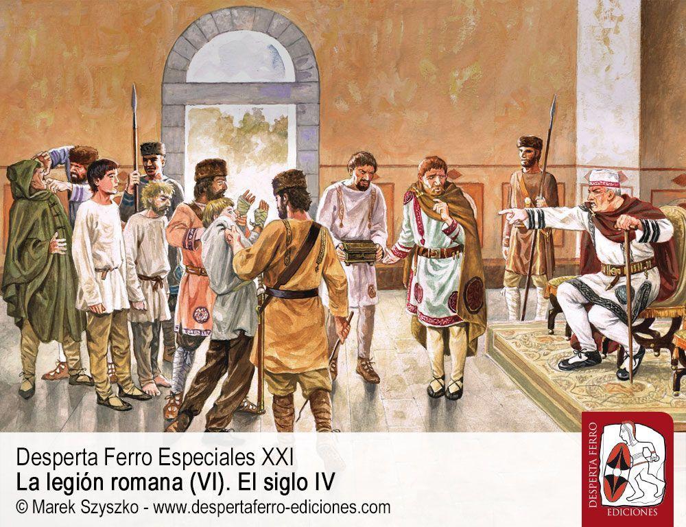 El legionario en casa. El Ejército y la sociedad romana del siglo IV por Douglas Lee (University of Notthingham)