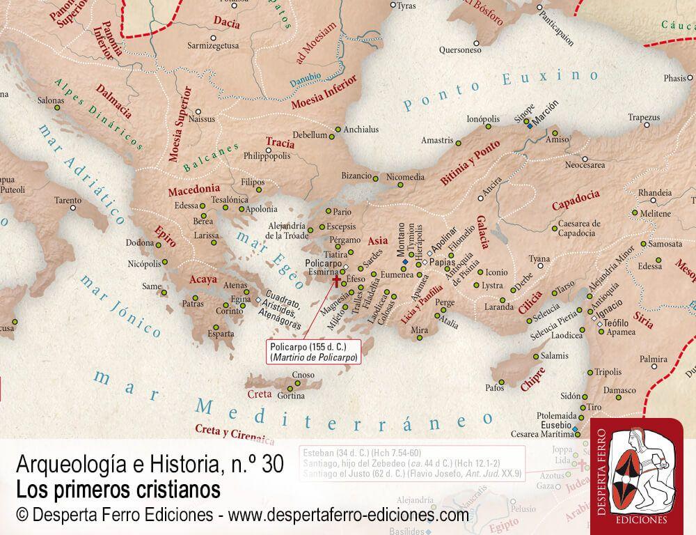 La difusión del cristianismo en el Imperio romano (siglos I y II d. C.) por Fernando Rivas-Rebaque (Universidad Pontificia Comillas)