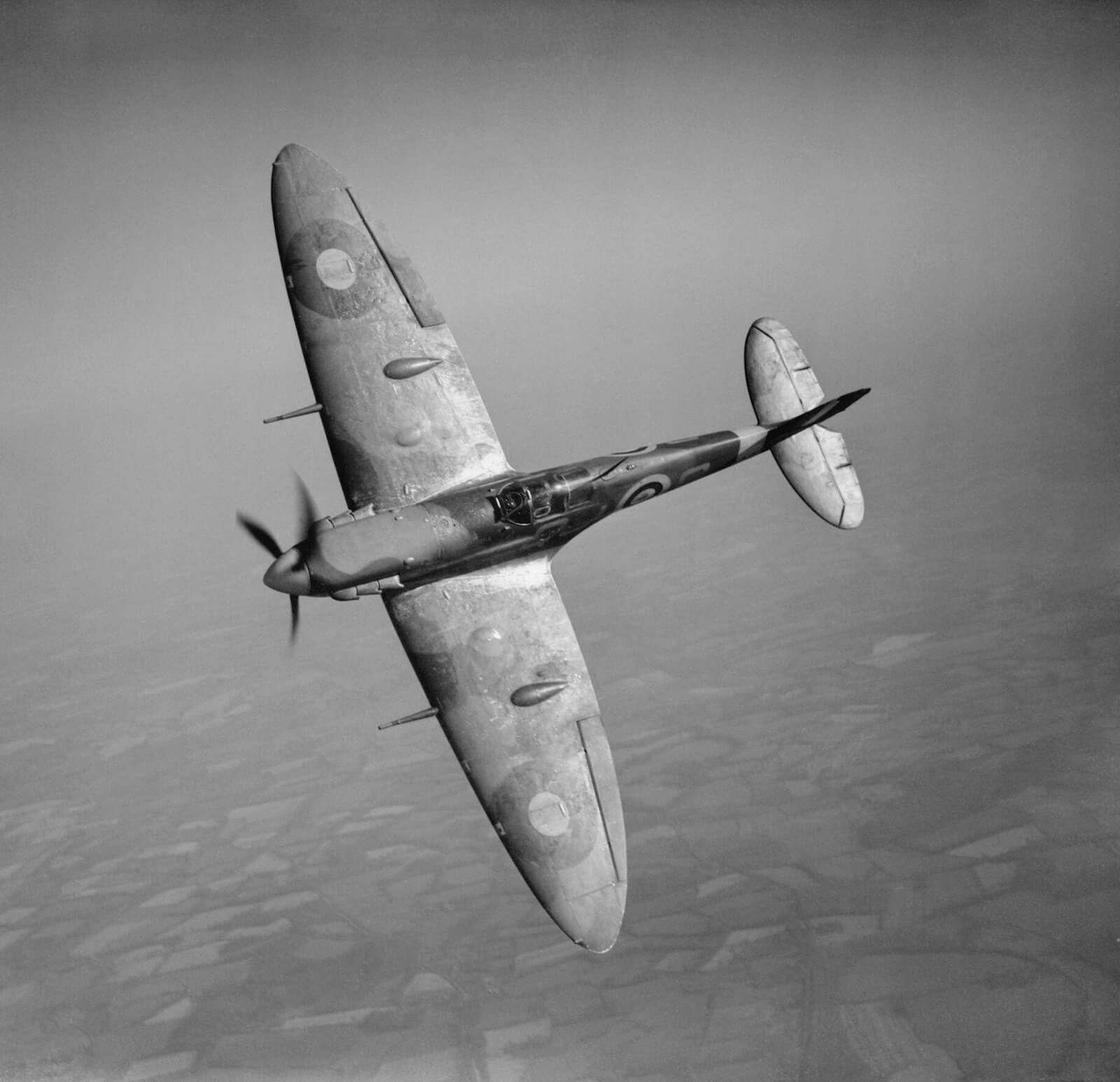 Supermarine Spitfire Mk Vb mitos batalla de Inglaterra