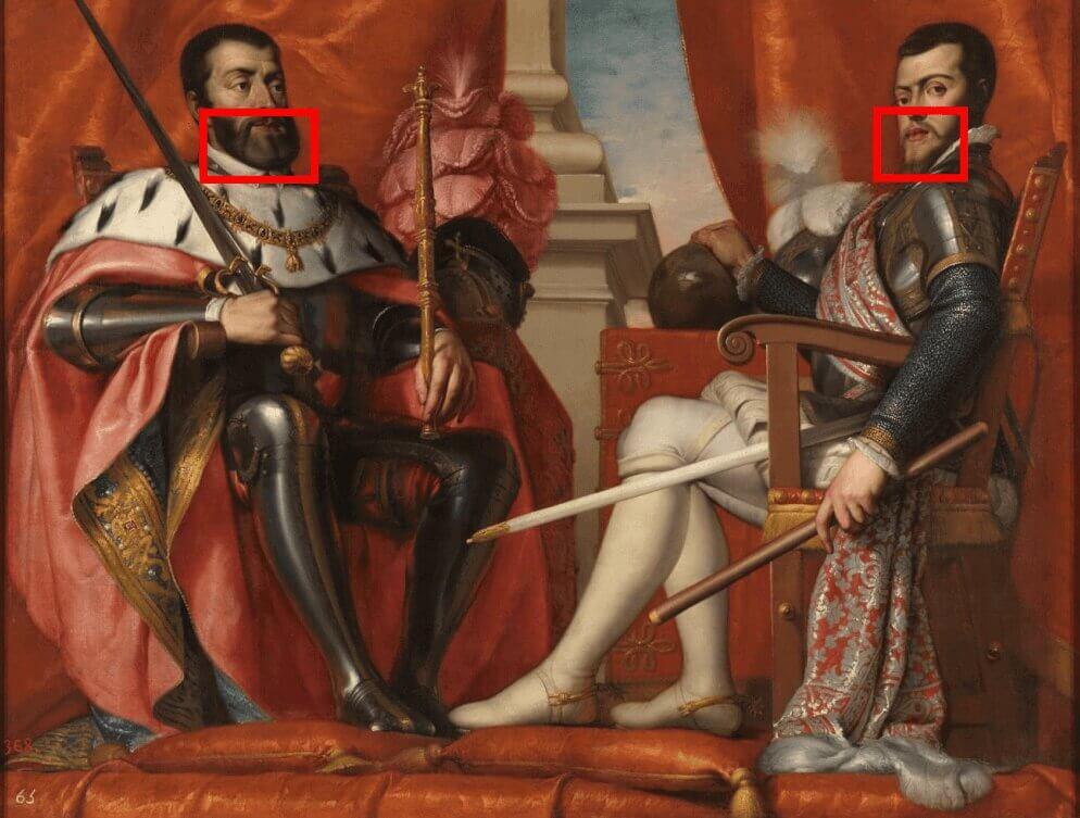 Carlos V y Felipe II endogamia y los Austrias españoles