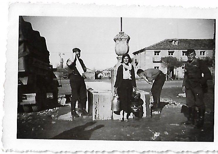 Legionarios en El Burgo de Osma.