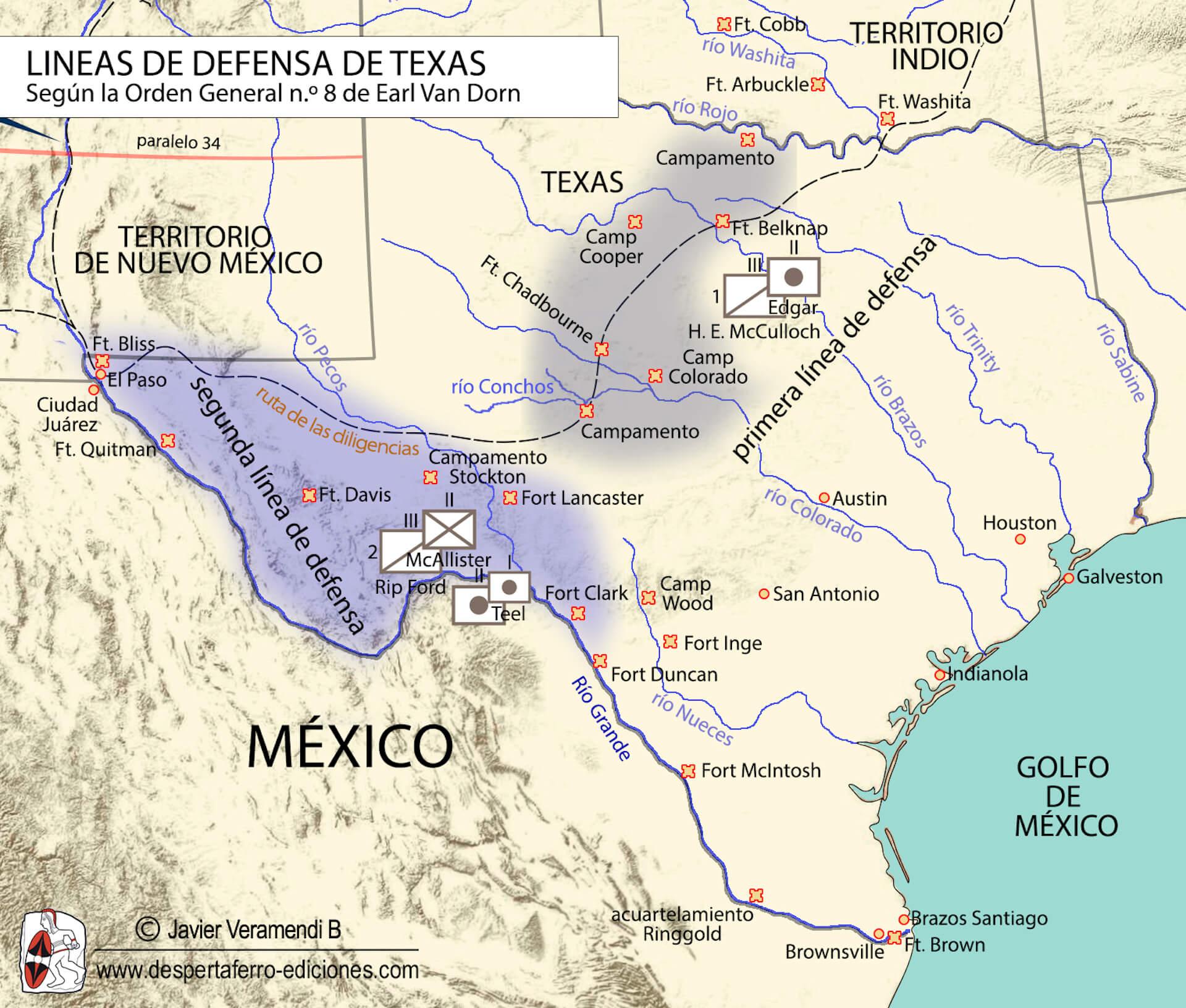Imperio confederado en el río grande ocupación de Texas Guerra de Secesión