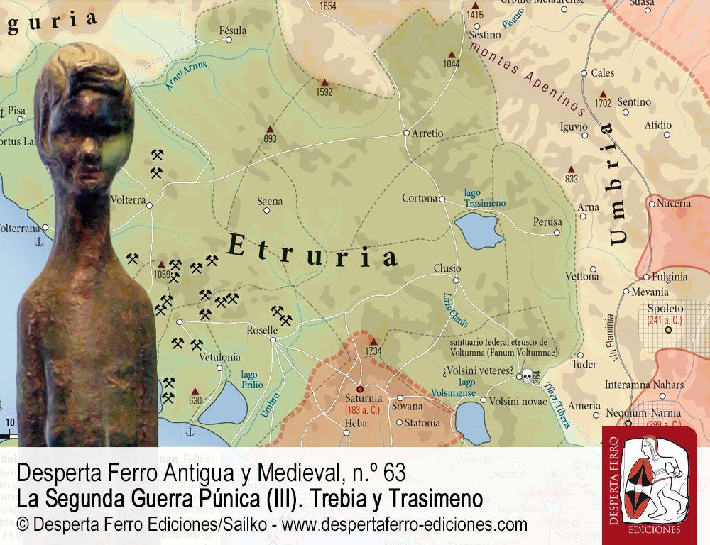 Roma y Etruria en el siglo III a. C. por Kathryn Lomas (University of Durham)