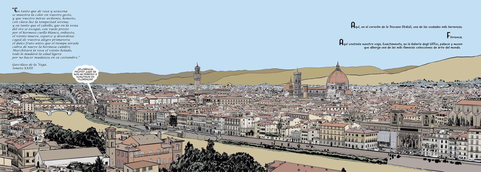 Historia del arte en cómic. El Renacimiento, de Pedro Cifuentes Florencia