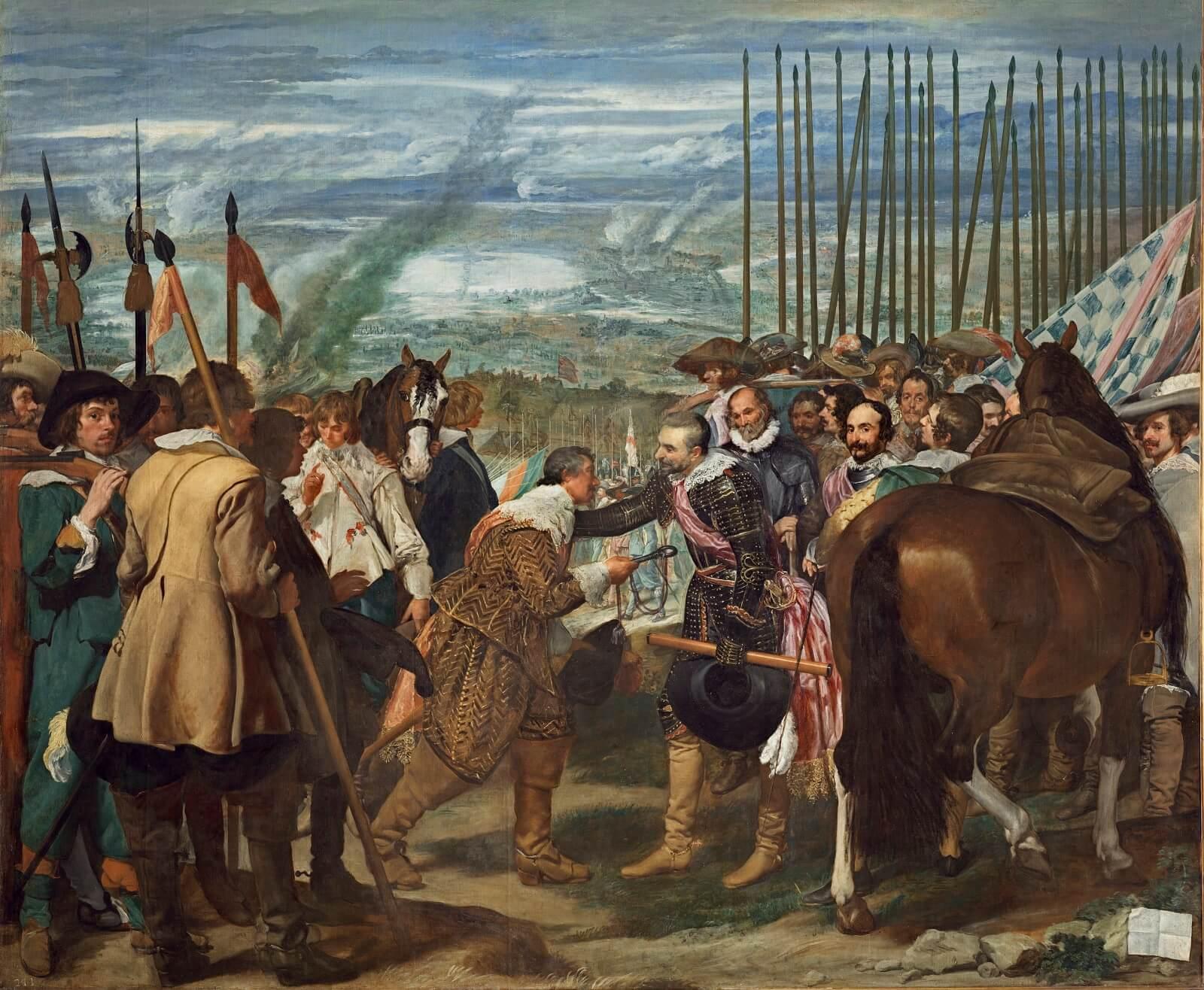La rendición de Breda Velázquez