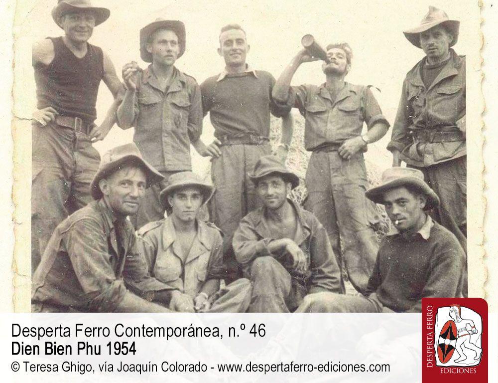 Experiencias de los combatientes por Joaquín Colorado