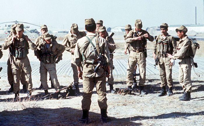 Grupo Spetsnaz soviético invasión soviética de Afganistán