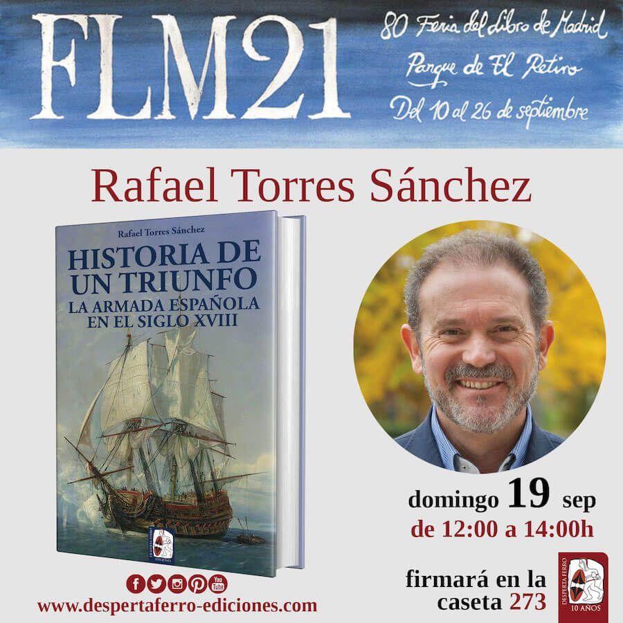 FLM Feria del libro de madrid 2021 Rafael Torres Sánchez